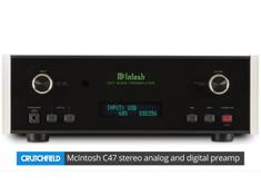 McIntosh C47 stereo analog and digital preamp