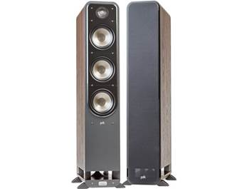on a pair of Polk Signature Series speakers