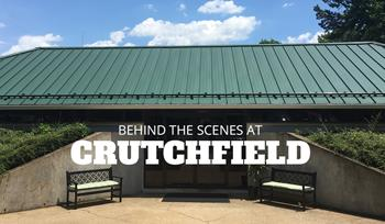 A summer internship at Crutchfield