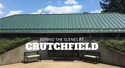 A summer internship at Crutchfield