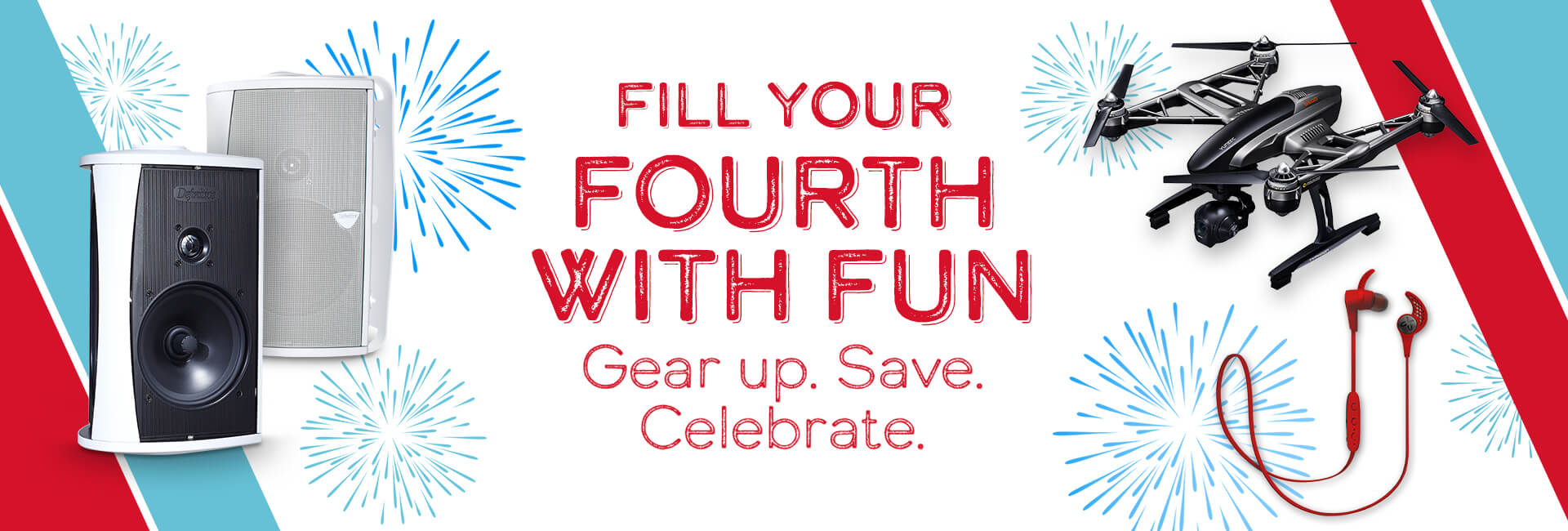 Fill your fourth with fun