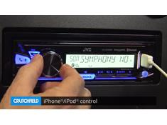 Demo of the JVC KD-X33MBS digital media receiver