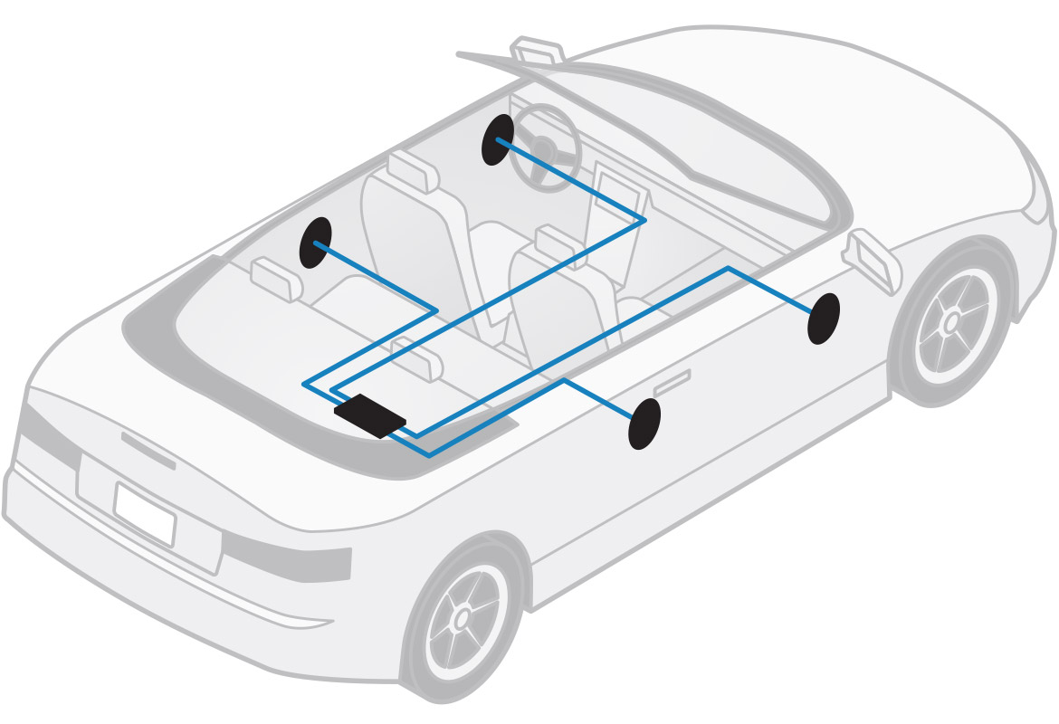 Why An Amplifier Is Key To Getting Better Sound In The Car Wireless 51 Mosfet Circuit View