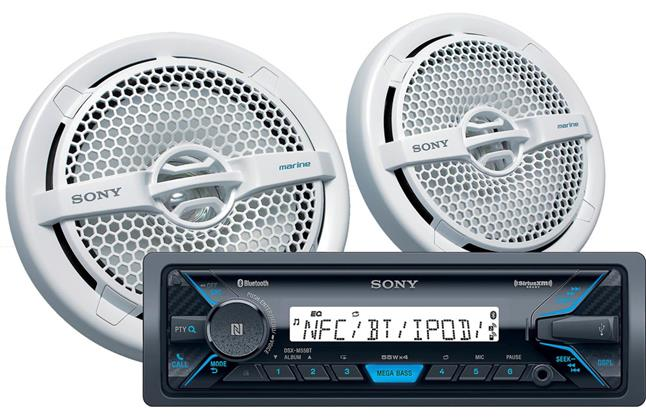 Sony DXS-M5511BT Marine Package