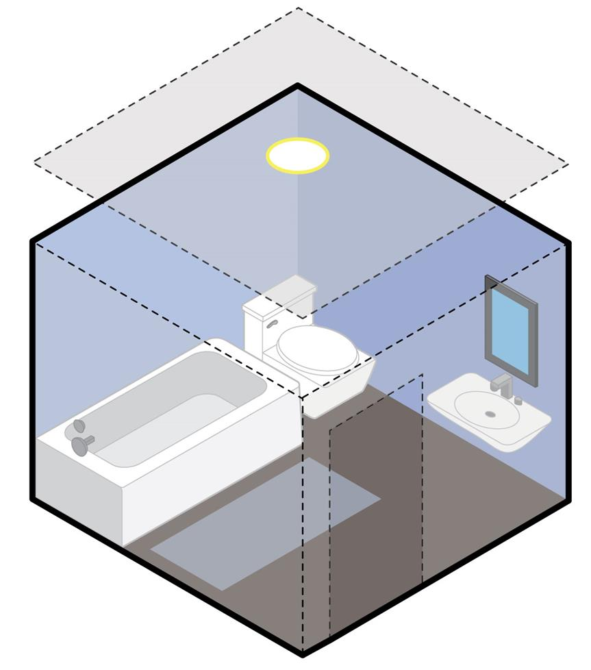 In Wall And Ceiling Speaker Placement Installation Diagram 7 Below 6 Layout For Roof Level A Stereo Input Bathroom