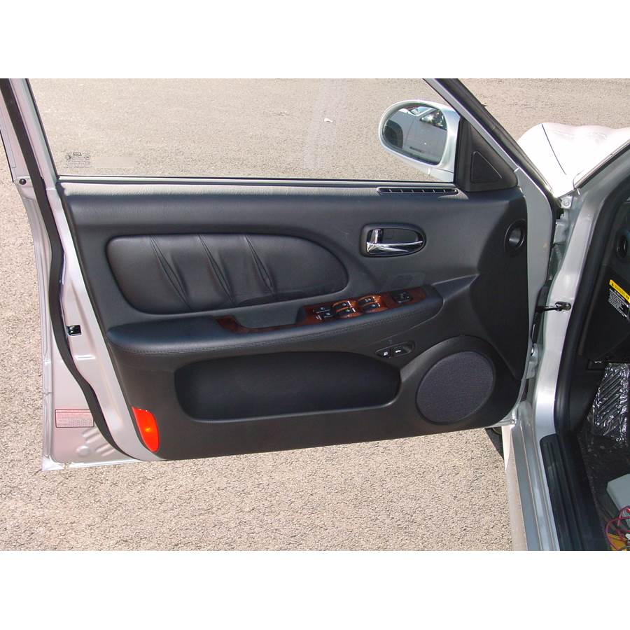 2002 Hyundai Sonata Front door speaker location