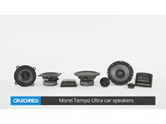 Morel Tempo Ultra car speakers