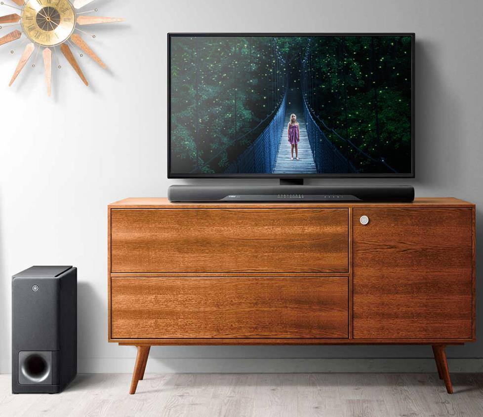 Yamaha YAS-207 soundbar with wireless subwoofer