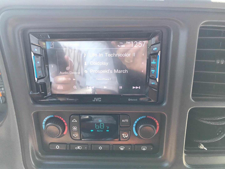 JVC KW-V230BT DVD receiver at Crutchfield