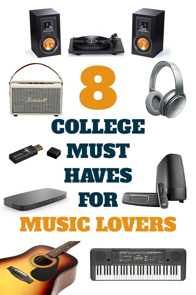 8 College Must Haves For Music Lovers