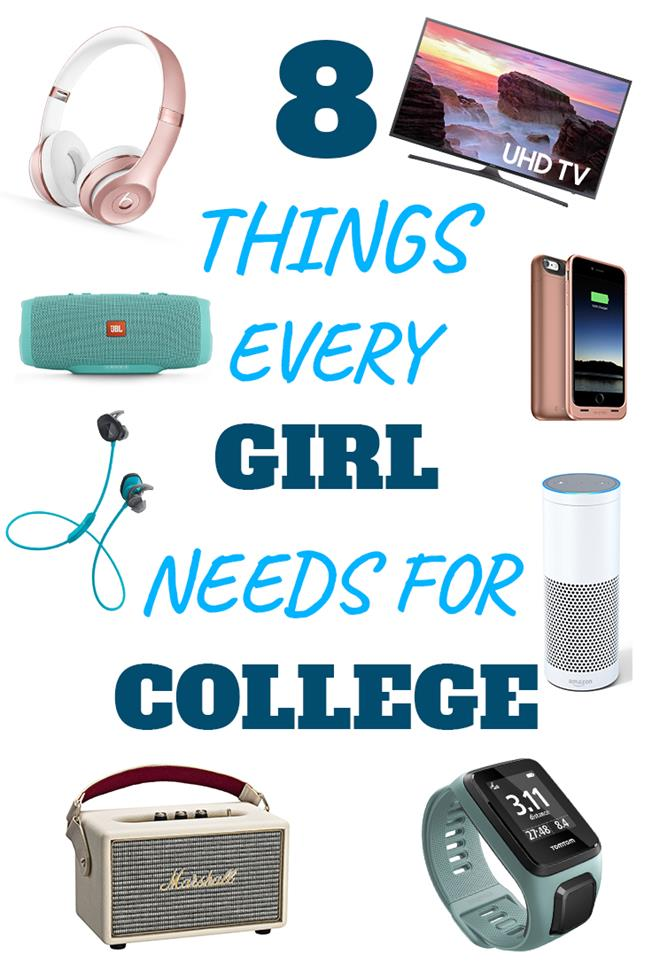 8 Things Every Girl Needs For College