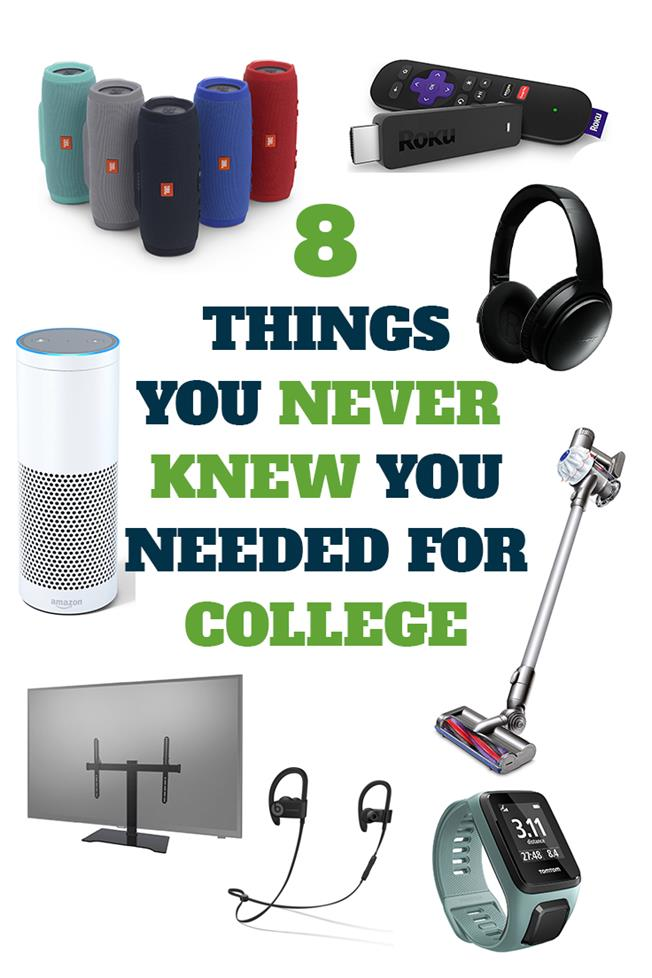 8 Things You Never Knew You Needed For College