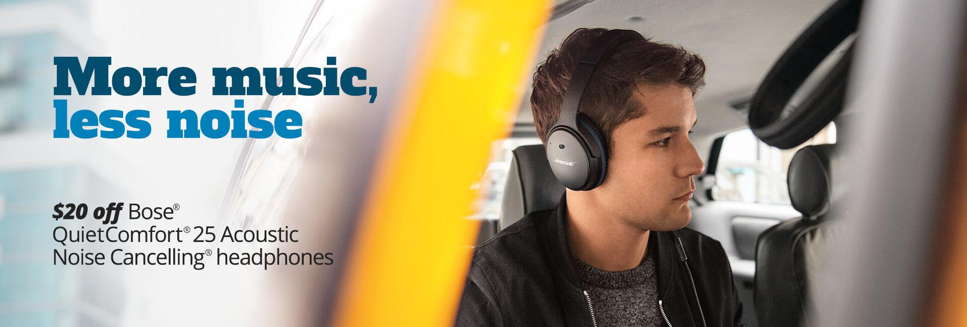 Bose QC25  sale save $20