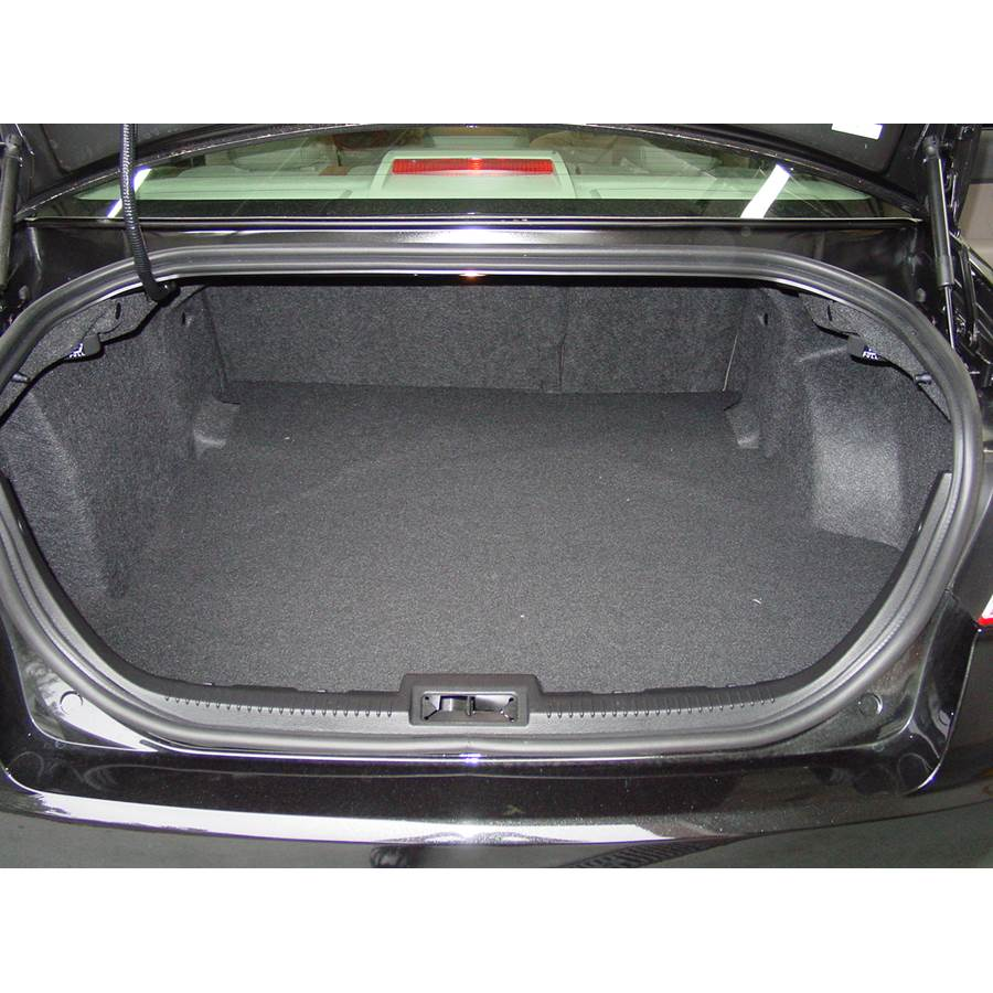 2010 Ford Fusion Cargo space
