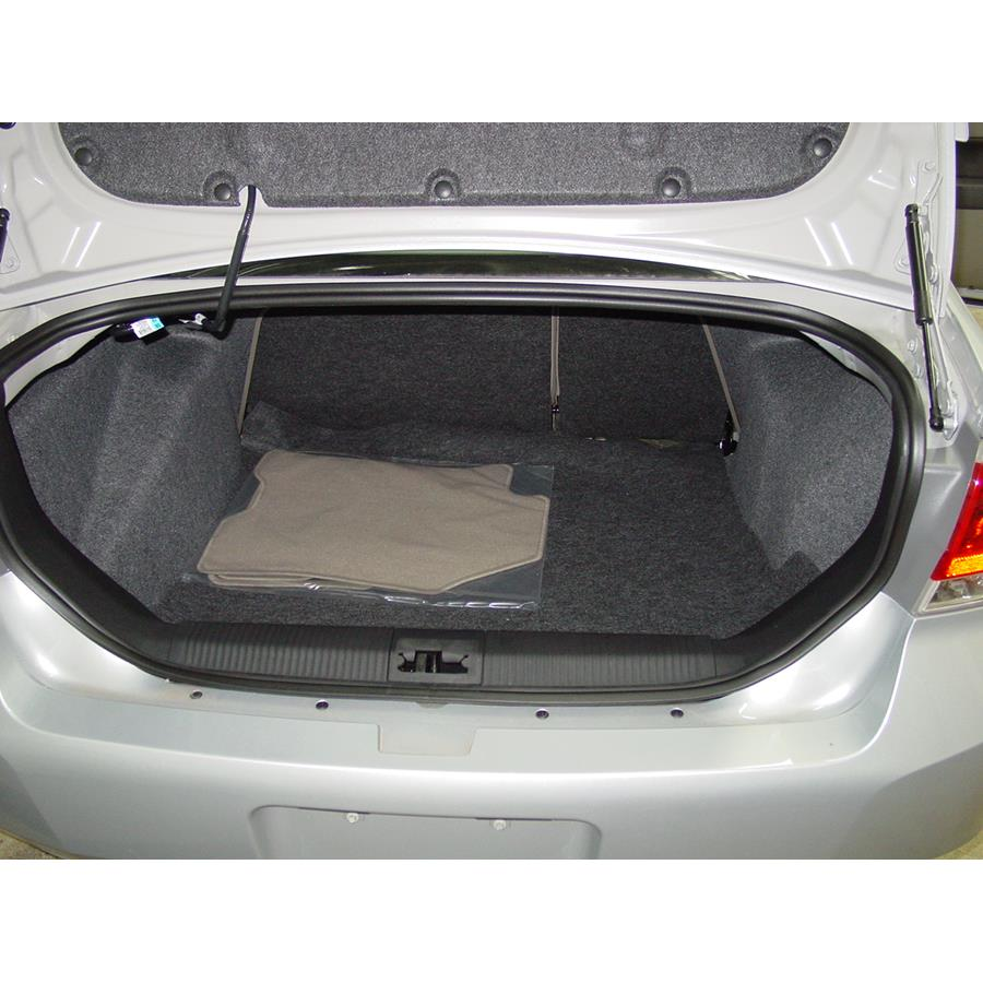 2011 Ford Focus Cargo space