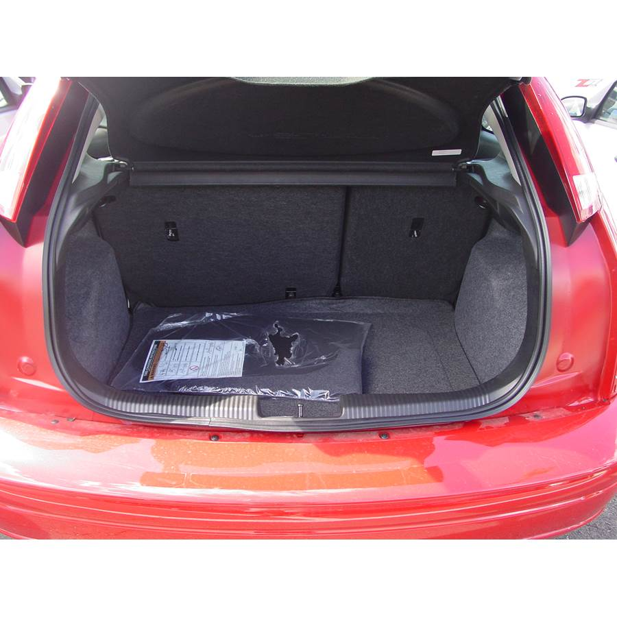 2006 Ford Focus ZX3 Cargo space