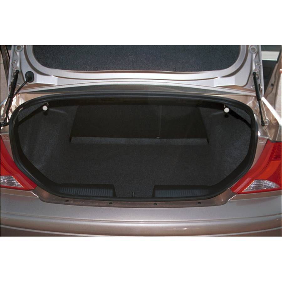 2003 Ford Focus Cargo space