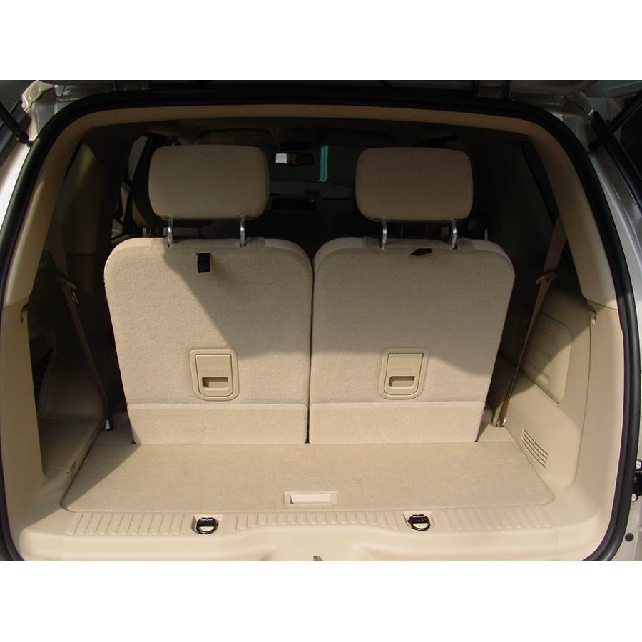 2009 Ford Explorer Cargo space