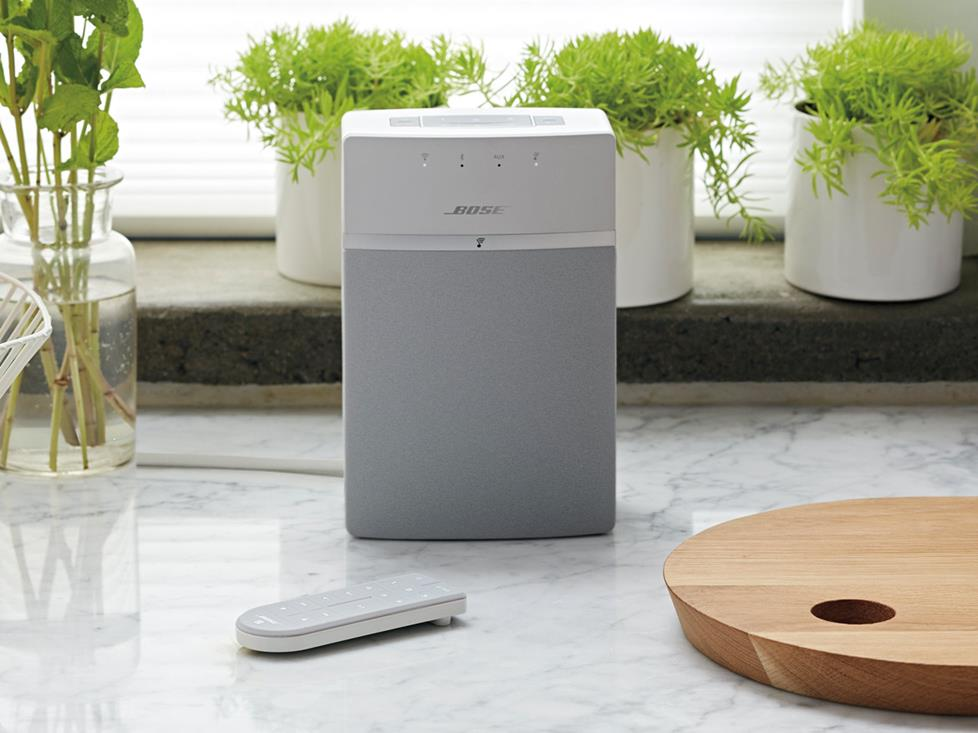 Bose SoundTouch 10 on kitchen counter