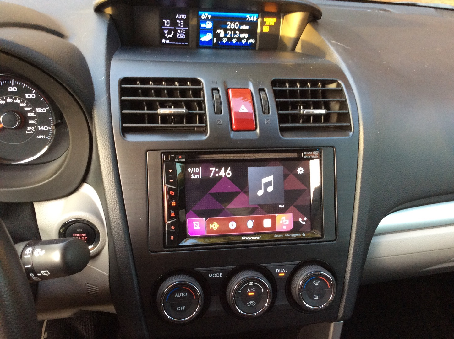 Pioneer AVH-1330NEX DVD receiver at Crutchfield