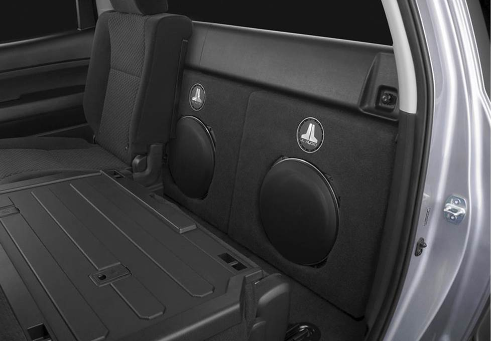JL Audio Stealthbox toyota tundra crewmax