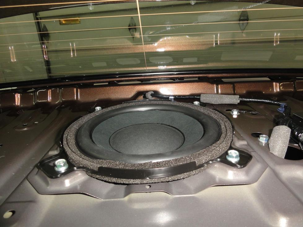 honda accord rear deck subwoofer