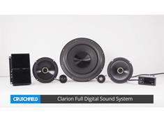 A look at the Clarion Full Digital Sound System