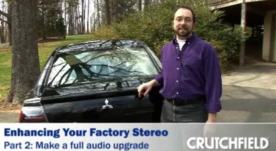 Video: Upgrading Your Factory Stereo, part 2