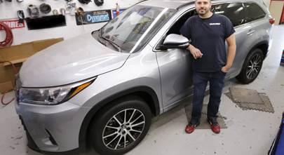 Custom sound for a 2017 Toyota Highlander