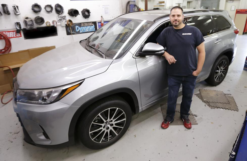 Custom Sound In A Toyota Highlander From Pioneer And Crutchfield