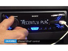 Demo of the Sony DSX-A405BT digital media receiver