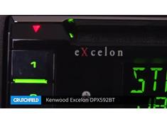 Demo of the Kenwood Excelon DPX592BT CD receiver