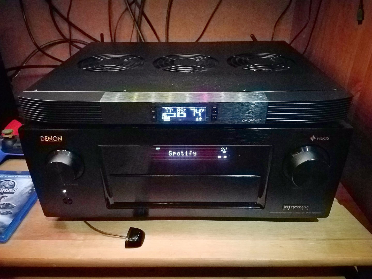 Denon AVR-X6300H IN-Command 11 2-channel home theater receiver with