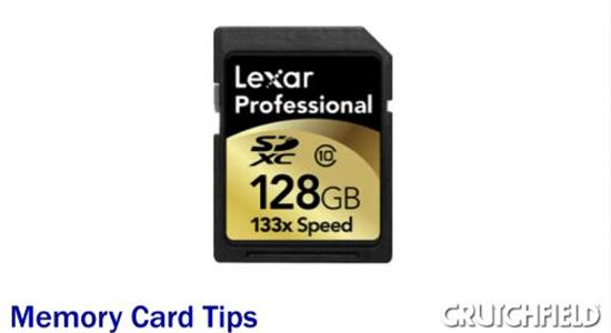 Video: Tips for using Memory Cards