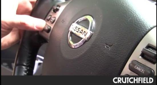 How to install a steering wheel control adapter