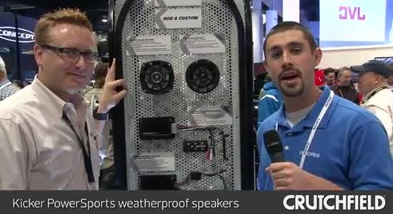 Video: Kicker PowerSports weatherproof speakers