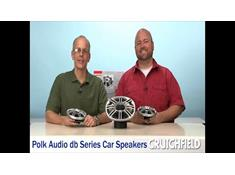 Video: Polk Audio db Series car speakers