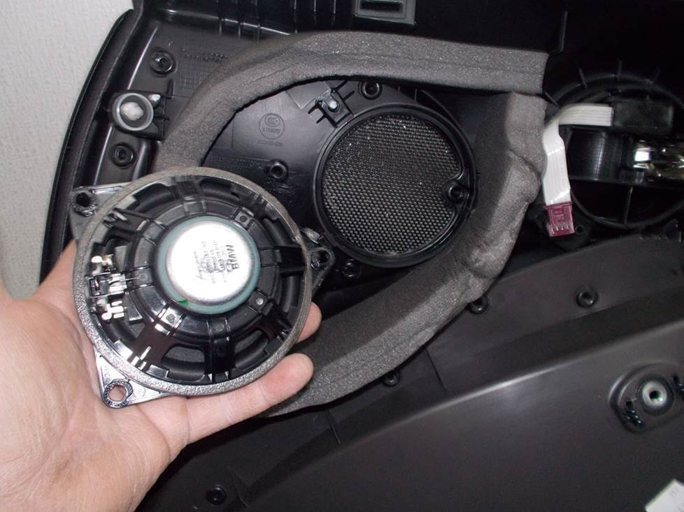 mini countryman front door speaker
