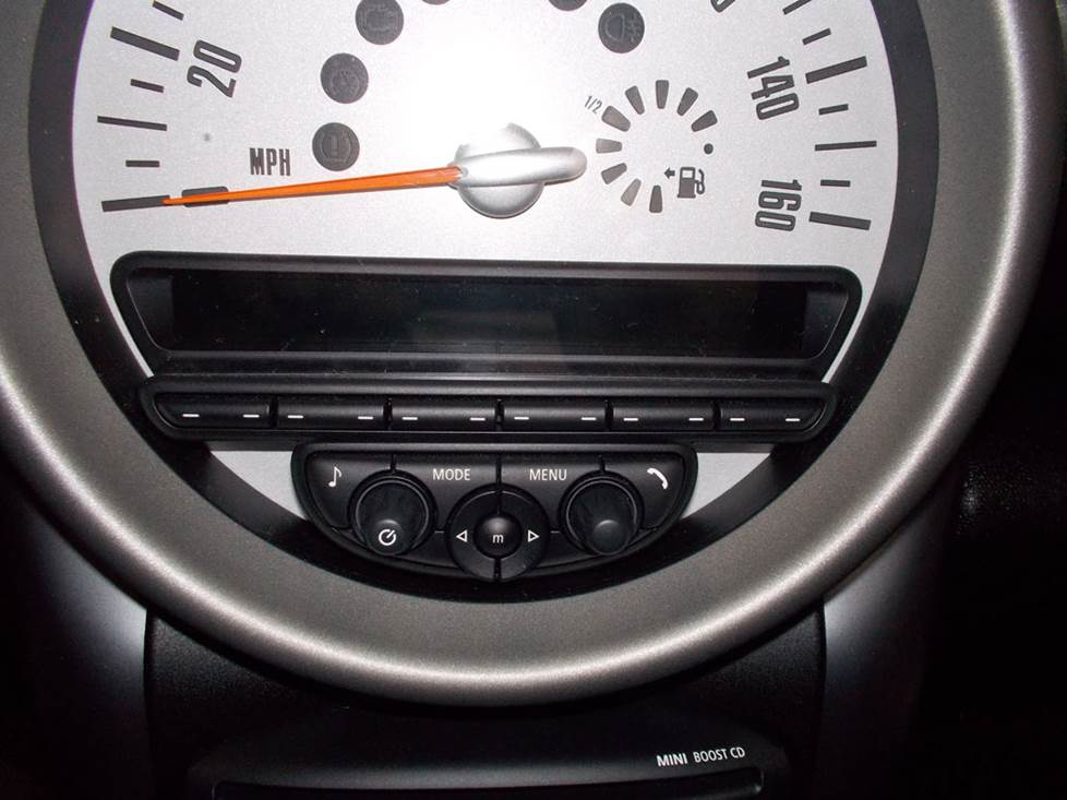 mini countryman radio cd player