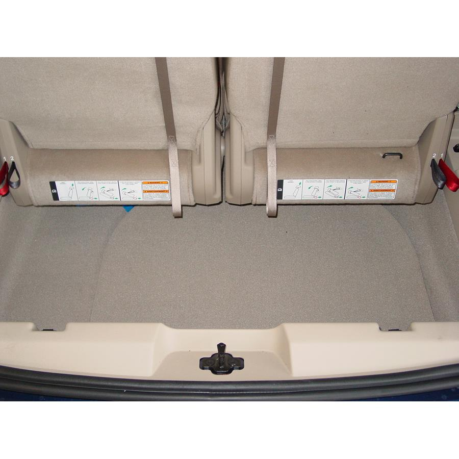 2007 Ford Freestyle Cargo space