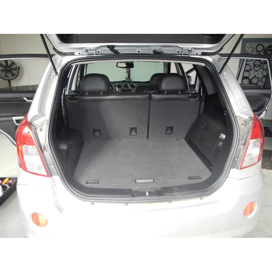 2014 Chevrolet Captiva Sport Cargo space
