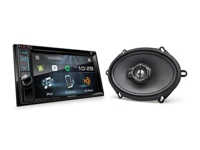 Kenwood deal:save $60 when you buy a car stereo with HD Radio, plus 2 sets of speakers