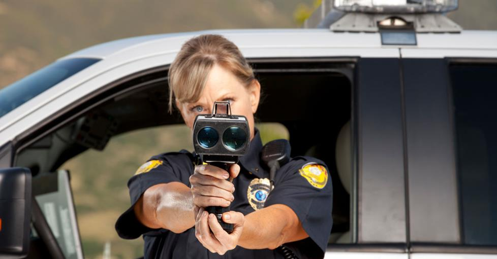 Can A Speed Gun Be Used Behind Glass