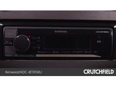 Video: Demo of the Kenwood KDC-BT858U CD receiver