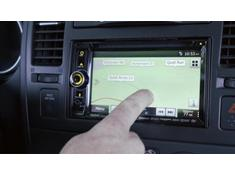 A look at the Clarion NX605 navigation receiver