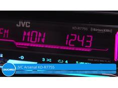 Demo of the JVC Arsenal KD-R775S CD receiver