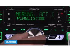Demo of the Kenwood Excelon DPX792BH CD receiver