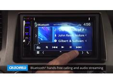 Demo of the Kenwood DNX573S navigation receiver