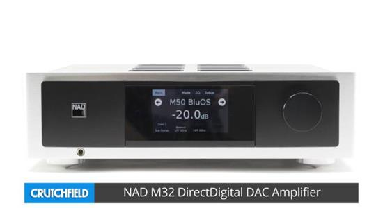 NAD Masters Series M32 integrated amplifier