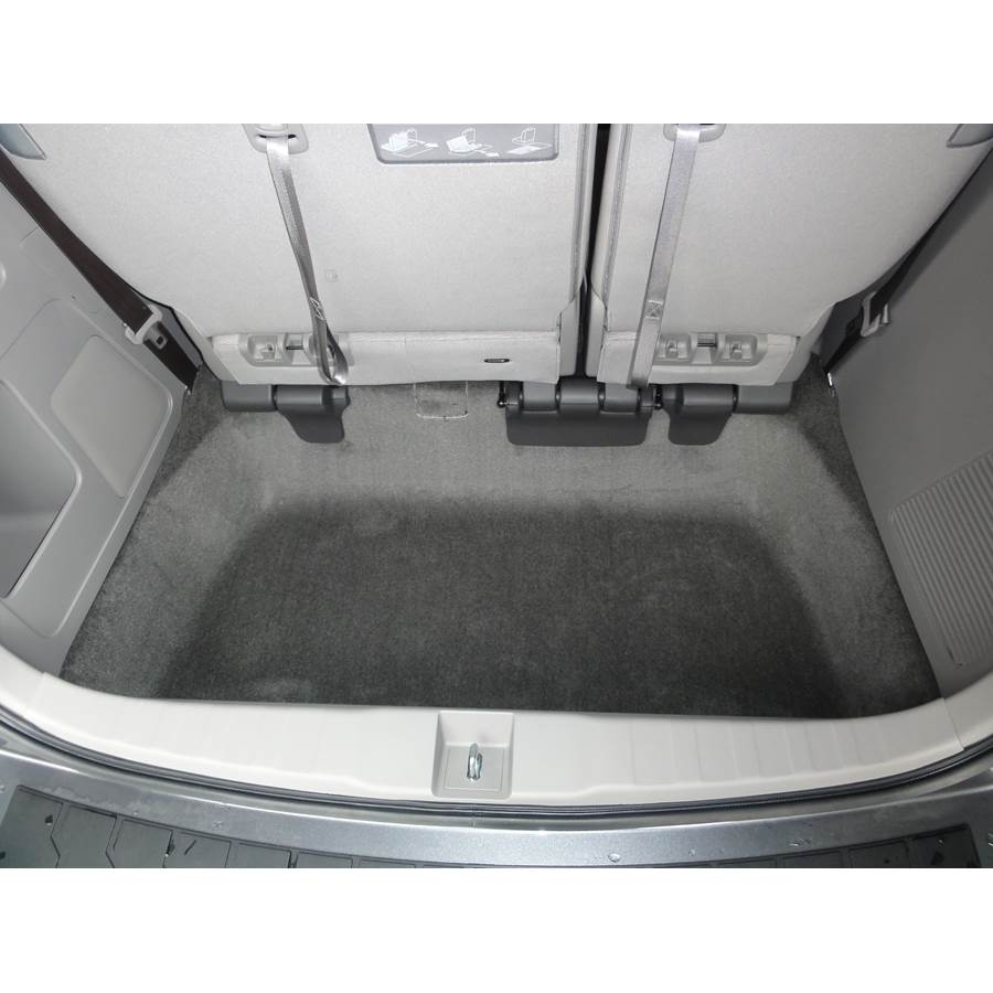 2017 Honda Odyssey Touring Elite Cargo space